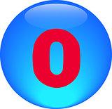 Alphabet icon symbol letter O