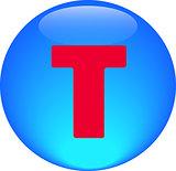 Alphabet icon symbol letter T