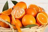 Sweet tangerines.