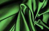 Green silk.