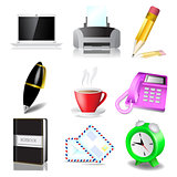 Office and document icon set