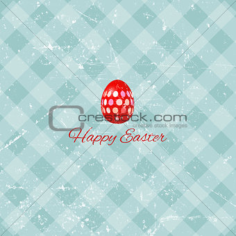 Grunge Easter background