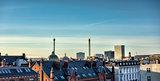 Copenhagen roof tops, Denmark