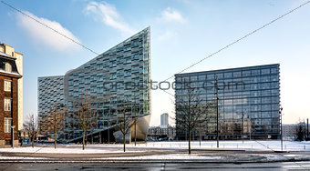 Copenhagen office buildings, Denmark