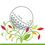 golf and trailing plant