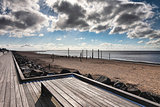 Beach Promenade near Esbjerg, Denmark
