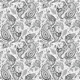 Paisley background.
