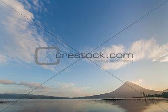 Arenal in morning light