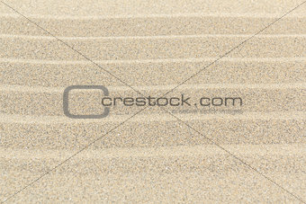 Sandy beach background texture with lines