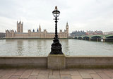 View of the Palace of Westminster from the Thames