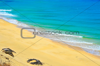 Butihondo beach in Fuerteventura, Spain