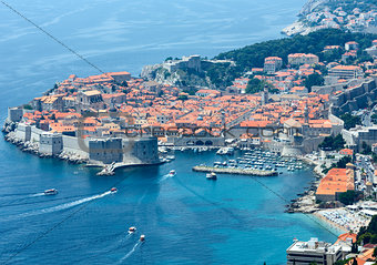 Dubrovnik Old Town view (Croatia)