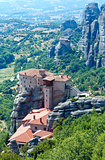 Meteora rocky monasteries