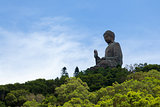 Giant Buddha in Lantau Island