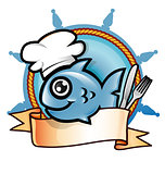fish restaurant symbol