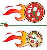 hot pizza  project