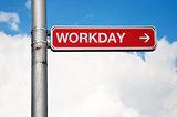 Street sign - friday