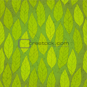 foliage vector background
