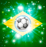 Brazil soccer flag