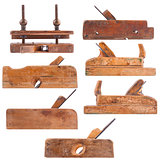 Collection of antique woodworking tools
