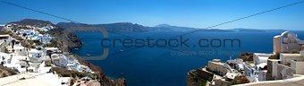 Santorini Island. Panorama.