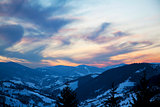 Carpathians Sunset 