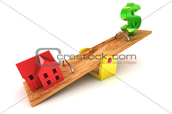 Housing Debt Dollar Illustration