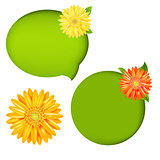 Nature Speech Bubbles