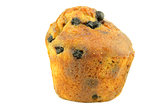 Blueberry flavored muffin
