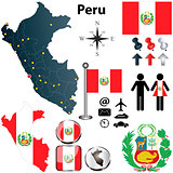 Map of Peru