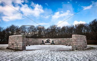 Memorial, Mindelunden in Esbjerg, Denmark