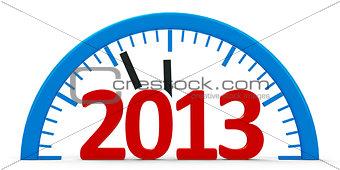 Clock 2013, half