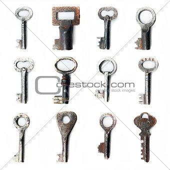 old keys