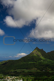 Hawaiian mountain
