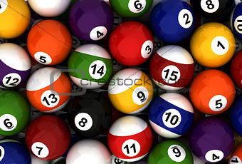 Poolball Background