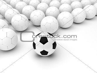 Different Soccer Balls
