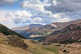High mountain landscape in Romania