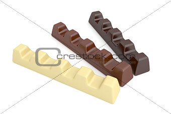Types of chocolate bars