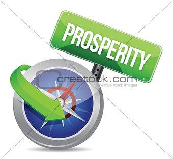 prosperity Glossy Compass