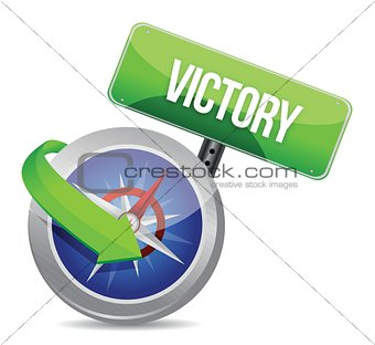 victory Glossy Compass