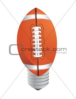 lightbulb Football ball