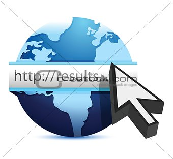 globe searching for results
