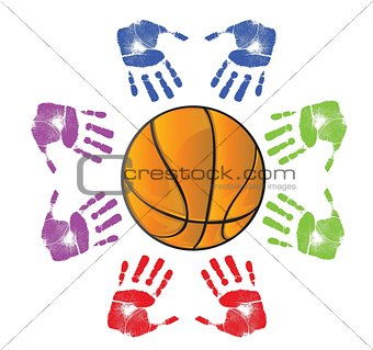 Basketball community concept