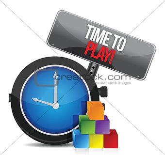 time to play clock