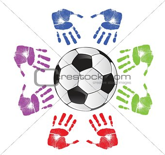 soccer community concept