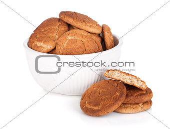 Bowl of cookies