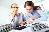 Busy accountants