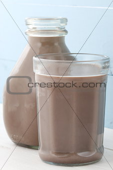 chocolate milk pint