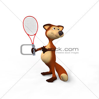 Foxes and tennis