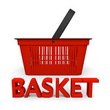 Shopping basket symbol